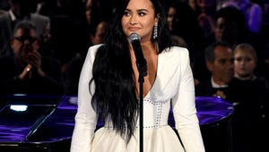 Demi Lovato Delivers Triumphant Grammy Performance After Tearful Start