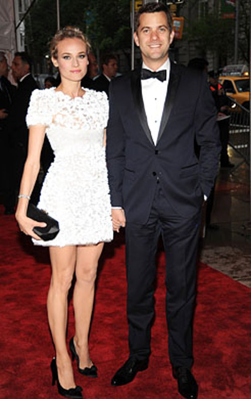 """Diane Kruger and Joshua Jackson - The Model as Muse: Embodying Fashion"""" costume institute gala at Metropolitan Museum of Art in New York City, May 4, 2009"""