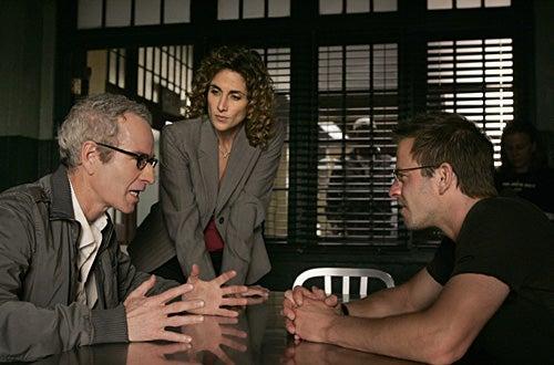 """CSI: NY -  """"...Comes Around"""" - Guest star John McEnroe, Melina Kanakaredes, Carmine Giovinazzo"""
