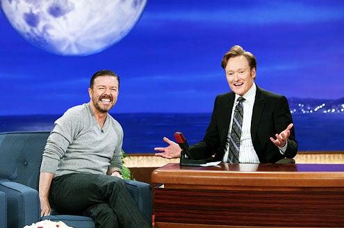 Conan - Season 2 - Ricky Gervais and Conan O'Brien