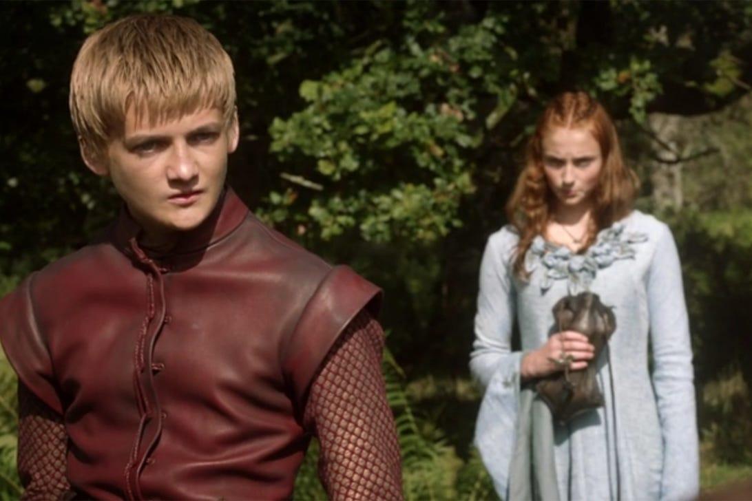 Jack Gleeson and Sophie Turner, Game of Thrones