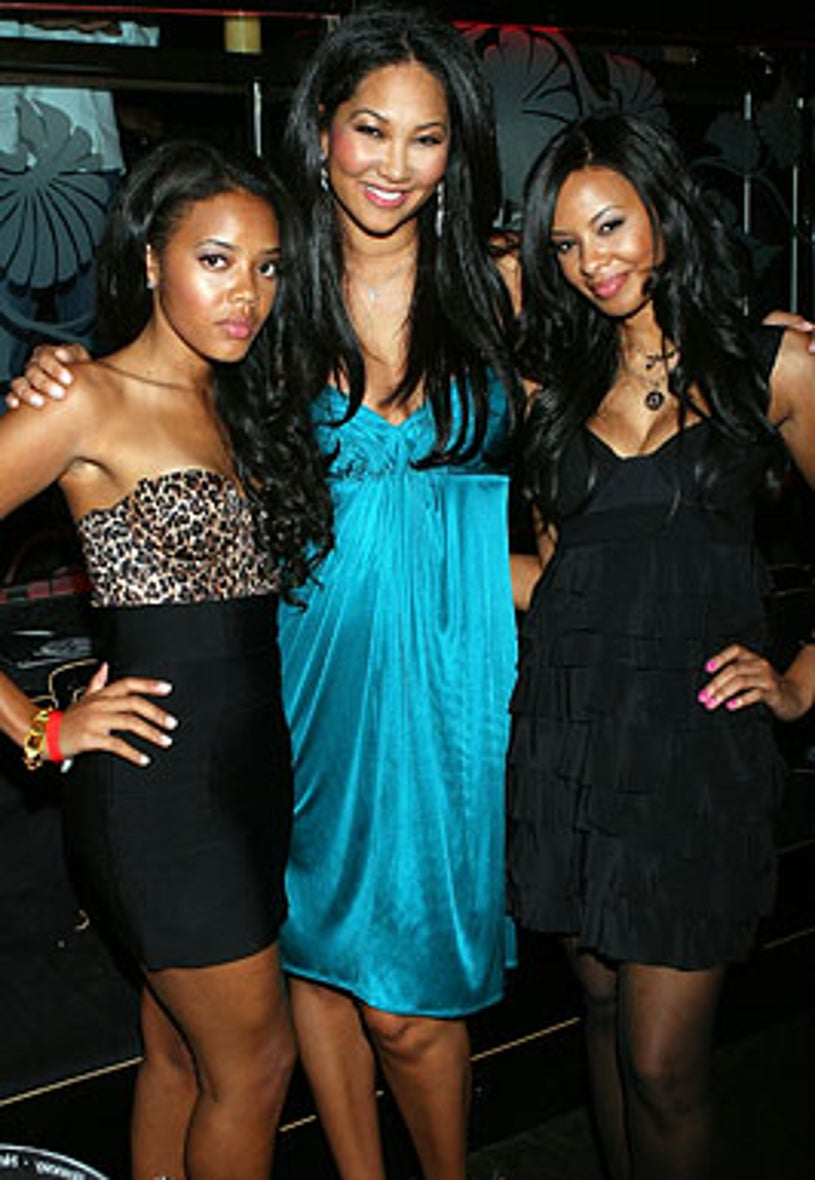Angela Simmons, Kimora Lee Simmons and Vanessa Simmons - The New Phat Fashion Collection at The Bellagio Hotel  in Las Vegas, August 25, 2008