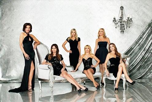 Real Housewives of New York City - Season 5 - LuAnn de Lesseps, Carole Radziwill, Aviva Drescher, Ramona Singer, Sonja Morgan and Heather Thomson