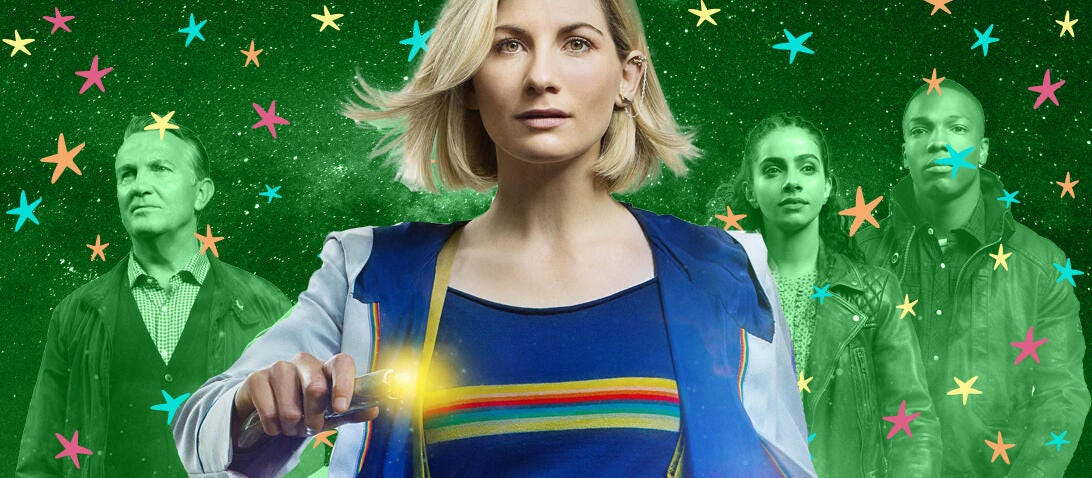 Doctor Who for 100 Best Shows