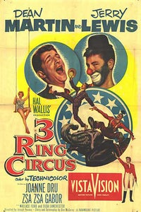 Three Ring Circus as Circus Cannon Operator