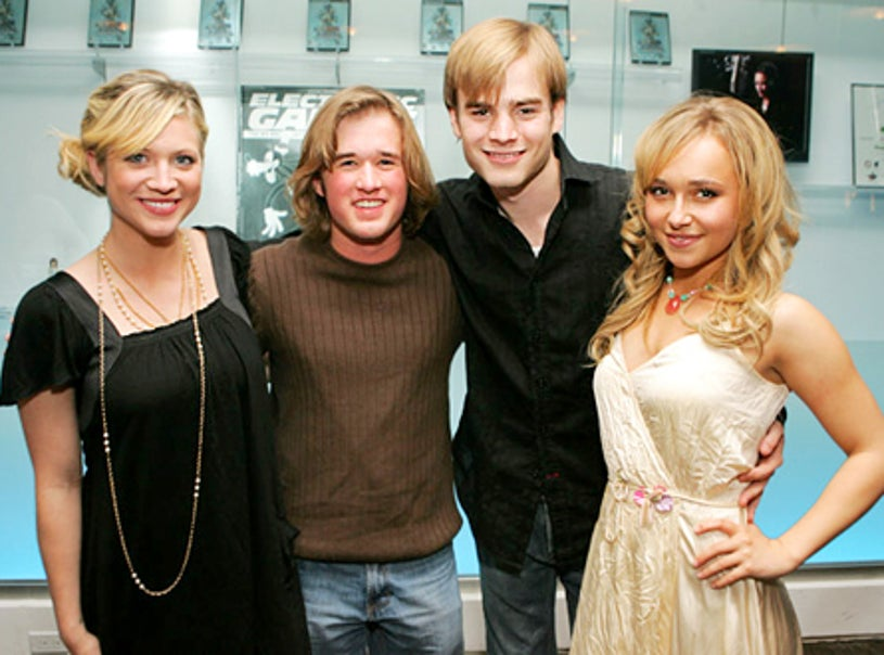 """Brittany Snow, Haley Joel Osment , David Gallagher and Hayden Panettiere - Playstation 2's """"Kingdom Hearts II"""" launch party, March 23, 2006"""