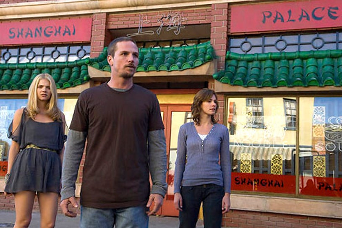 "Persons Unknown - Season 1 - ""Saved"" - Daisy Betts as Janet, Jason Wiles as Joe and Kate Lang Johnson as Tori"