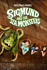 Sigmund and the Sea Monsters as Captain Barnabas