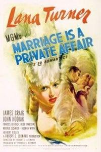Marriage Is a Private Affair as Josie