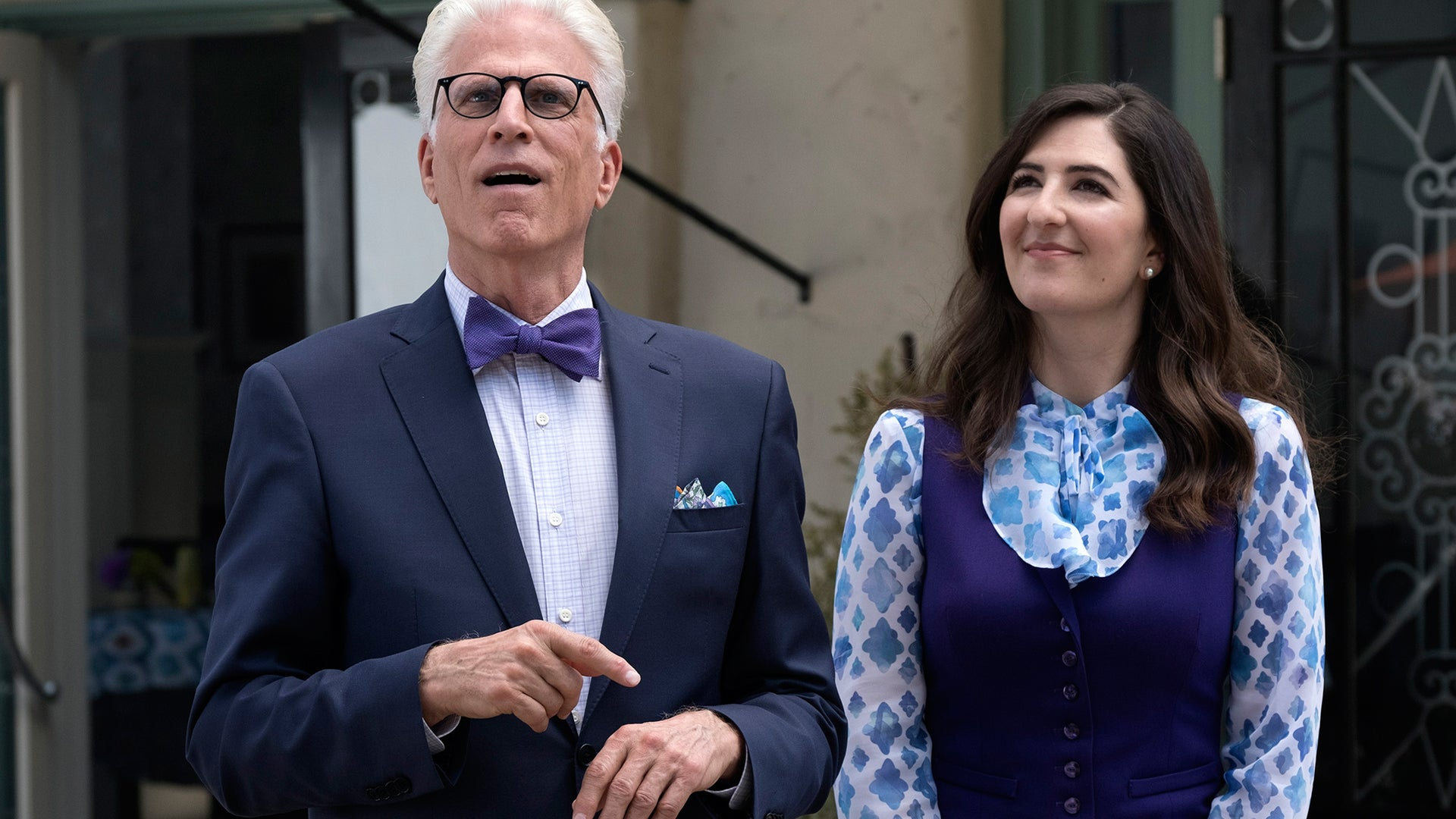 Ted Danson, D'Arcy Carden; The Good Place