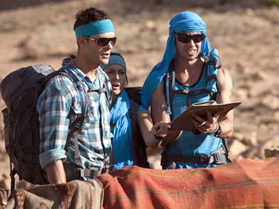 "Expedition Impossible - Season 1 - ""Sun! Sand! Sahara!"" - AJ Gibson, Kari Gibson and Ryan Allen Carrillo"