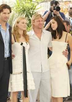 "Eric Bana, Diane Kruger, Sean Bean and Rose Byrne - ""Troy"", May 13, 2004"