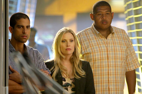 "CSI: Miami - Season 8 - ""Bad Seed"" - Adam Rodriguez, Emily Procter and Omar Miller"
