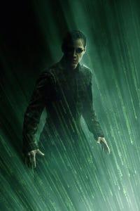 The Matrix Revolutions as Coat Check Girl
