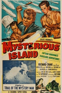 Mysterious Island as Southern officer