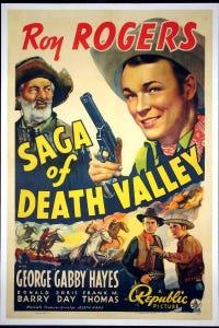 Saga of Death Valley as Brace
