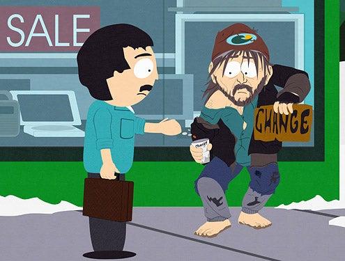 "South Park - ""Night of the Living Homeless"" - Randy Marsh"