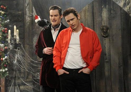 """Saturday Night Live - Season 35 - """"James Franco"""" - Bill Hader and James Franco"""