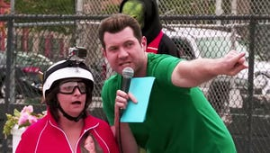"""Give Billy Eichner All the Emmys for This """"Escape from Scientology"""" Obstacle Course"""