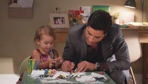 Exclusive Grandfathered Sneak Peek: Jimmy and Edie (Try to) Make Hand Turkeys!