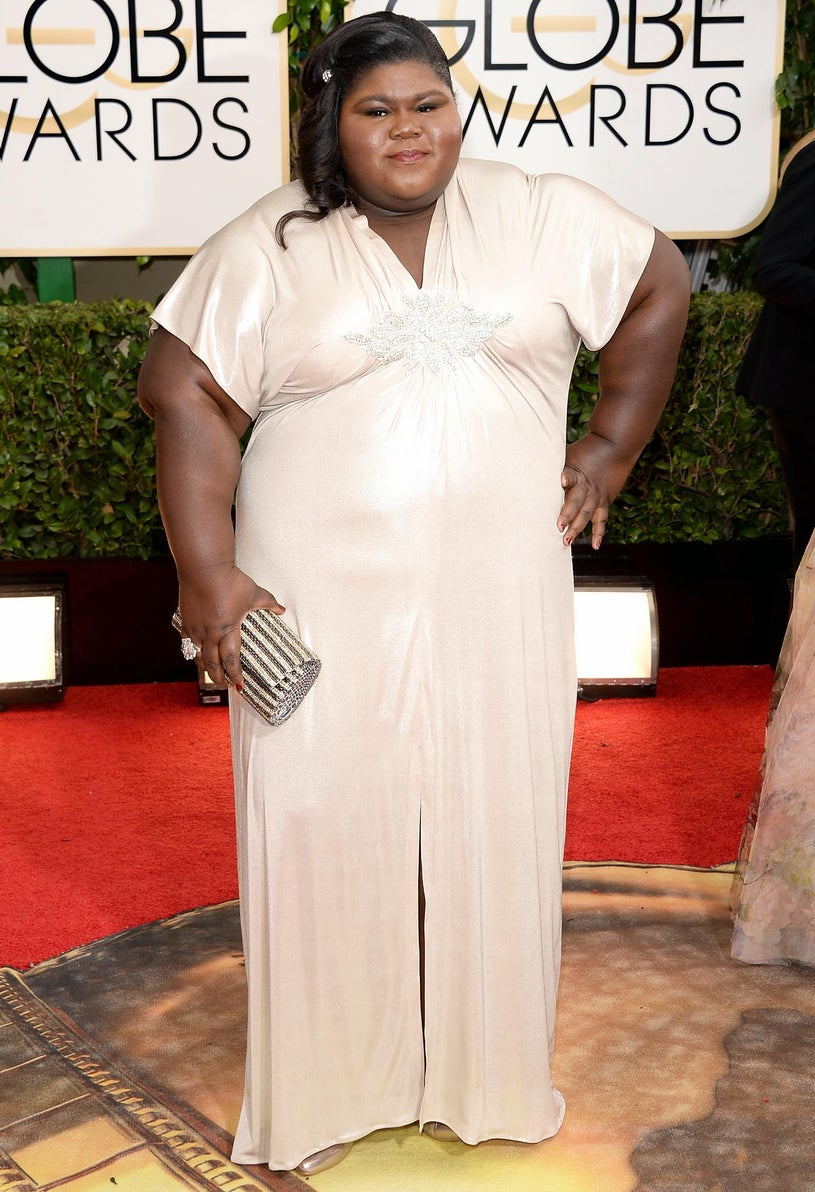 Gabourey Sidibe - 71st Annual Golden Globe Awards in Beverly Hills, California, January 12, 2013