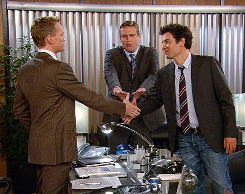 "How I Met Your Mother - Season 6 - ""Unfinished"" - Neil Patrick Harris, Jason Segel,  Josh Radnor"