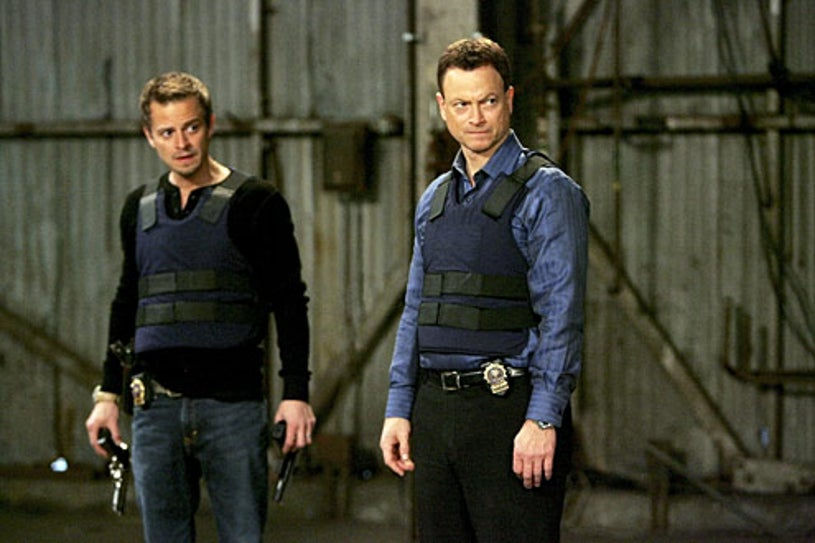 "CSI: NY - Season 5 - ""Point of No Return"" - Carmine Giovinazzo, Gary Sinise"