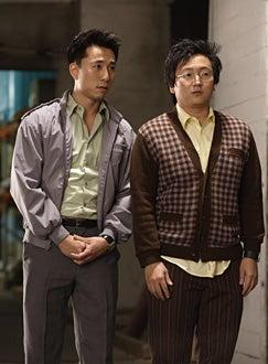 "Heroes - ""Distractions"" - James Kyson Lee as Ando Masahashi, Masi Oka as Hiro Nakamura"