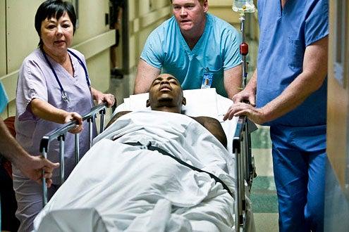 "Necessary Roughness - Season 2 - ""Shrink or Swim"" - Mehcad Brooks"
