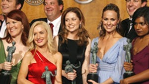 Backstage at the SAG Awards: the Winners, the No-shows and a Big Ray of Sunshine