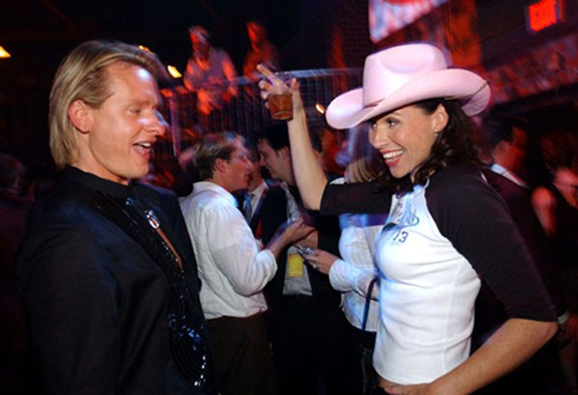 Carson Kressley and Minnie Driver - CMT 2004 Flame Worthy Video Music Awards After Party, April 21, 2004