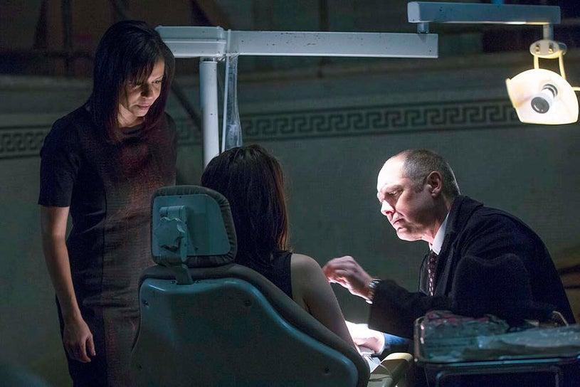 "The Blacklist - Season 2 - ""Luther Braxton: Conclusion"" - Gloria Reuben, Megan Boone and James Spader"