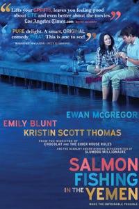 Salmon Fishing in the Yemen as Dr. Alfred Jones