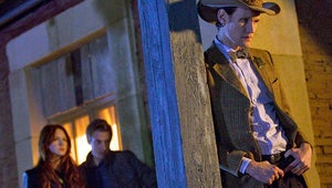 """Exclusive First Look: Doctor Who Trailer for """"A Town Called Mercy"""""""