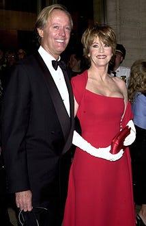 Peter Fonda & Jane Fonda - The Film Society of Lincoln Center Gala Tribute to Jane Fonda - 2001
