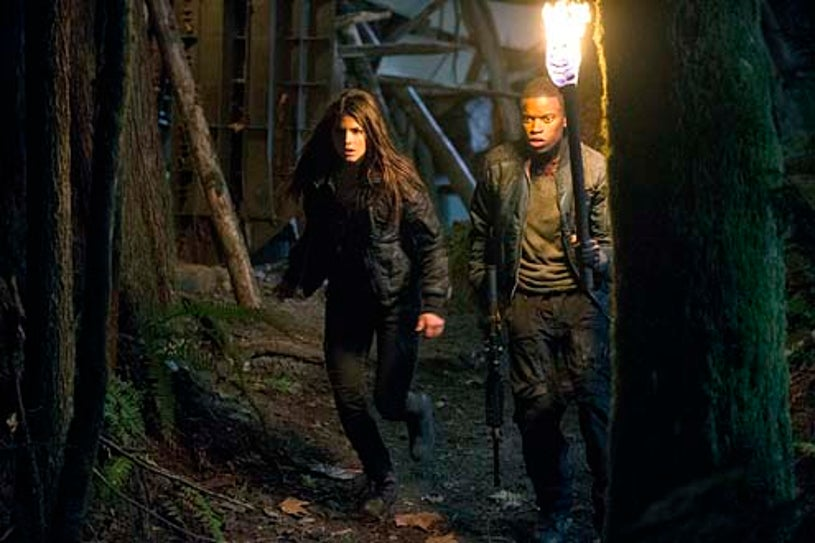"""The 100 - Season 1 - I Am Become Death"""" - Marie Avgeropoulos and Josh Ssettuba"""