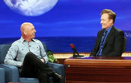 Conan - Howie Mandel and Conan O'Brien