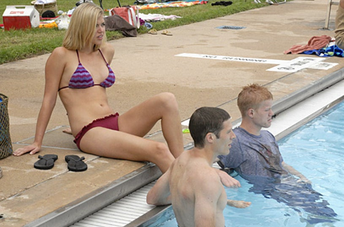 "Friday Night Lights - Season 2 - ""Last Days of Summer"" -Adrianne Palicki, Zach Gilford, Jesse Plemons"