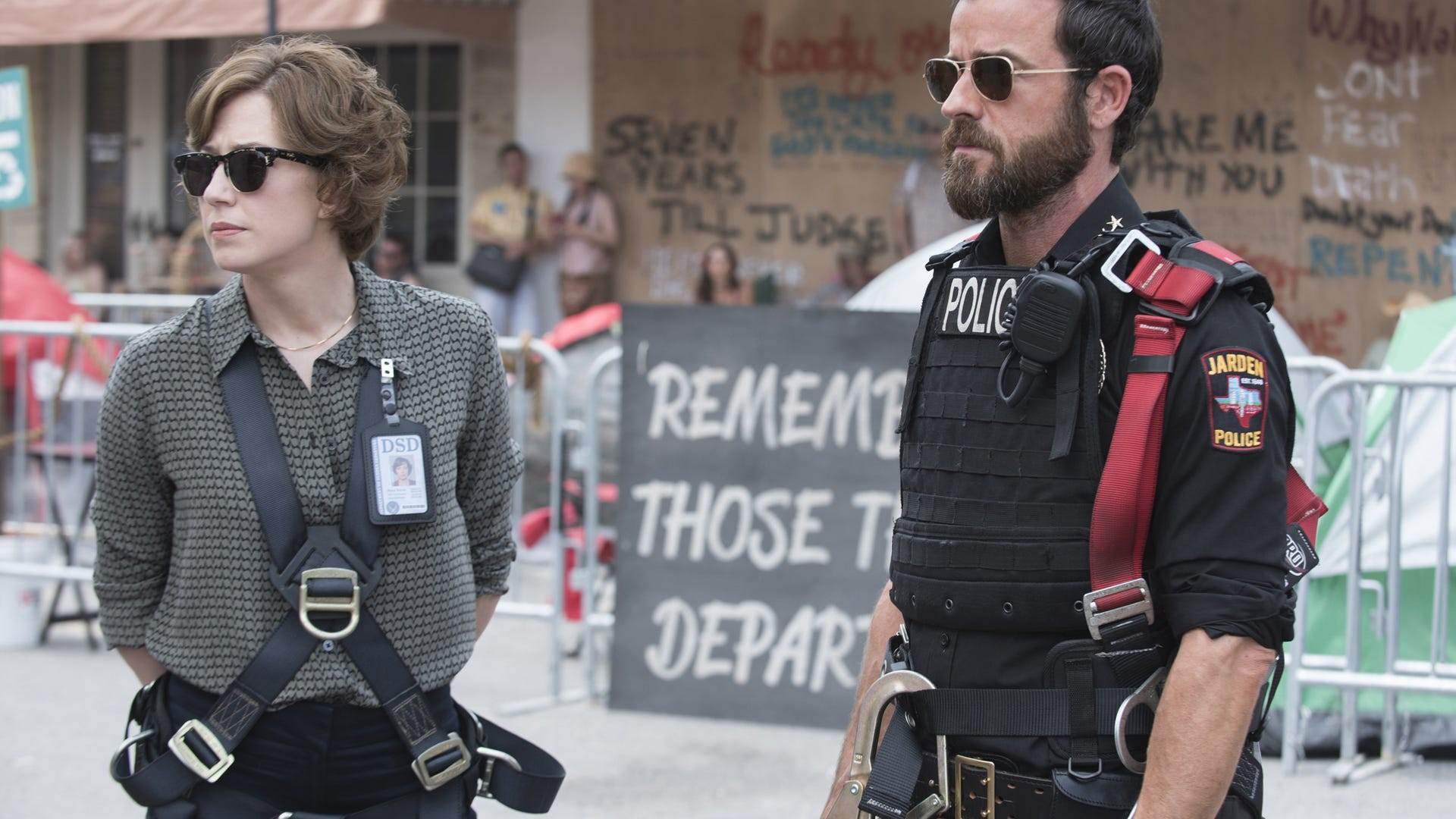 Carrie Coon, Justin Theroux; The Leftovers