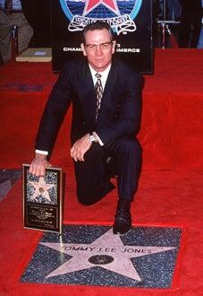 Tommy Lee Jones - Hollywood Walk of Fame, Nov. 1994
