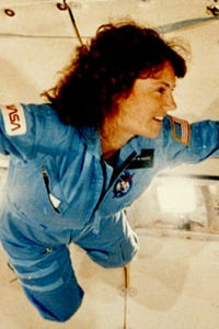 Christa McAuliffe as Herself - Astronaut