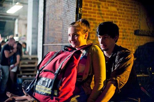 Girls - Season 1 - Lena Dunham and Adam Driver
