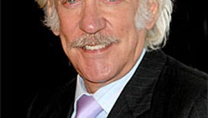 Donald Sutherland Is The Hunger Games' President Snow