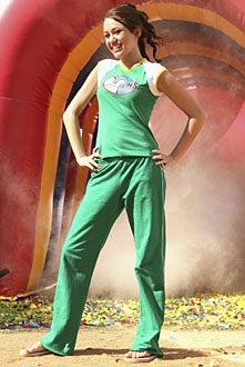 Disney Channel Games - Miley Cyrus, April 2007