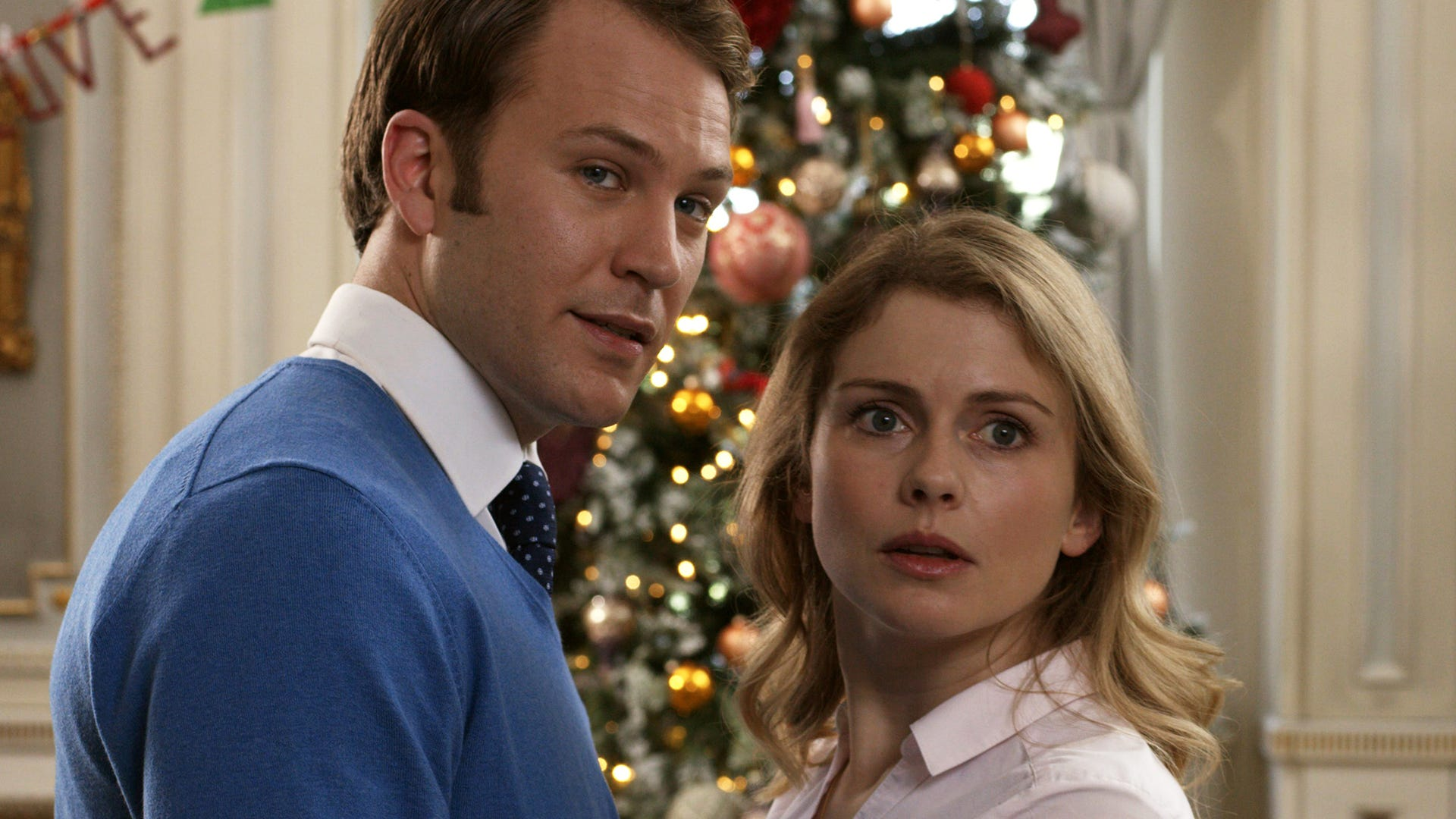 Rose McIver and Ben Lamb, A Christmas Prince: The Royal Wedding