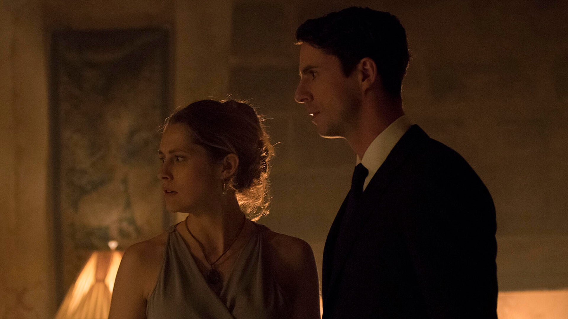 Teresa Palmer and Matthew Goode, A Discovery of Witches