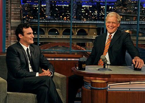 Late Show with David Letterman - Joaquin Phoenix, David Letterman - Sept. 22, 2010