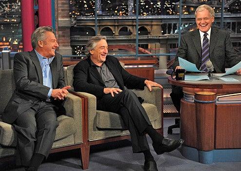 Late Show with David Letterman - Robert DeNiro, Dustin Hoffman, David Letterman - December 17, 2010