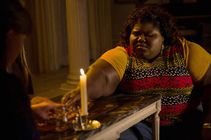 """American Horror Story: Coven - """"The Axeman Cometh"""" - Gabourey Sidibe as Queenie"""
