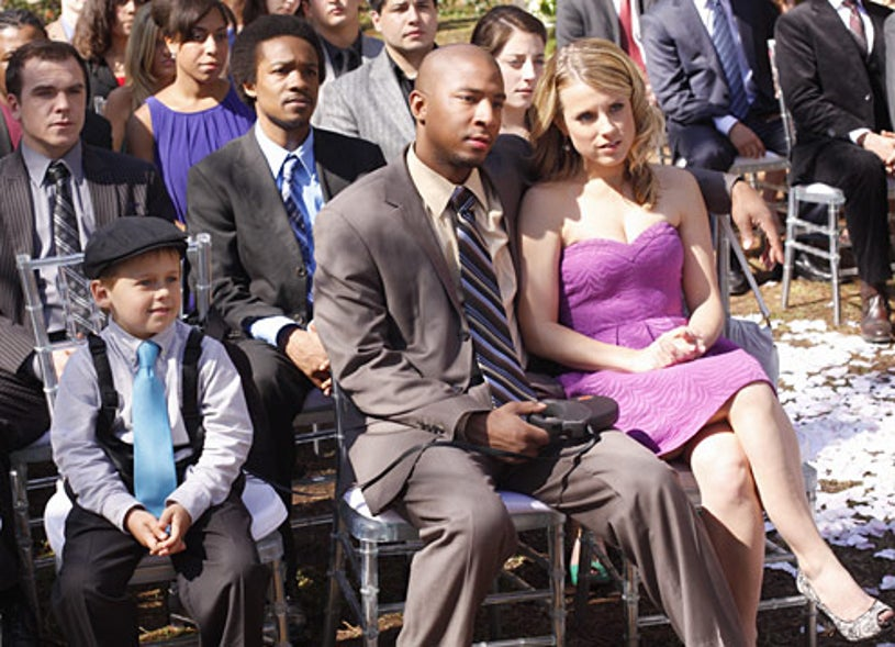 "One Tree Hill - Season 6 - ""Forever and Almost Always"" - Jackson Brundage as Jamie, Antwon Tanner as Skills and Allison Munn as Lauren"